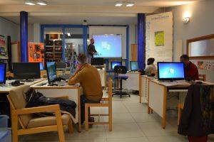 Cyberbase, salle informatique