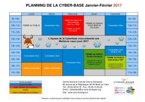 planning cbb jan fev mars 2017