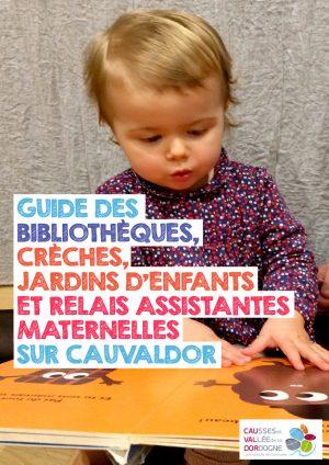 Guide des bibliothèques, crèches, jardins d'enfants et RAM