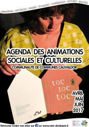 Plaquette des animations sociales et culturelles avril, mai, juin 2017