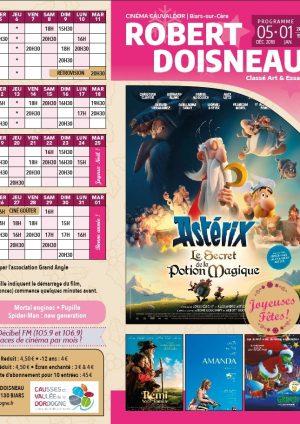 Programme cinéma du 05/12/18 au 01/01/19