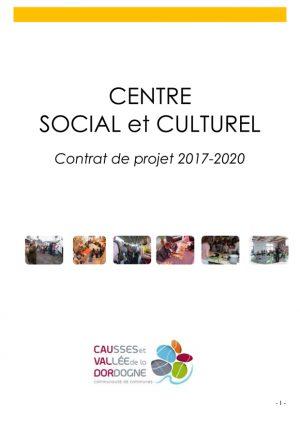 Projet Centre Social et Culturel 2017-2020