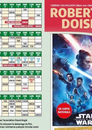 Programme cinéma du 04 décembre au 07 janvier 2020