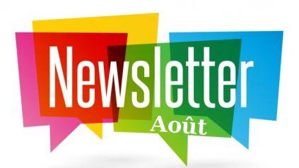 Newsletter Août 2020