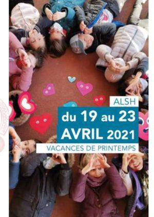 Programme ALSH 3-10, 19 au 23 avril 2021 (semaine 1)