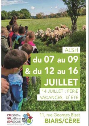 Programme ALSH 3-10 ans, 07 au 16 juillet