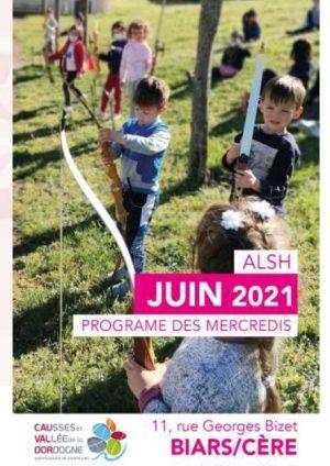 Programme ALSH – mercredi juin 2021