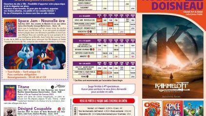 Programme du 28 juillet au 24 août
